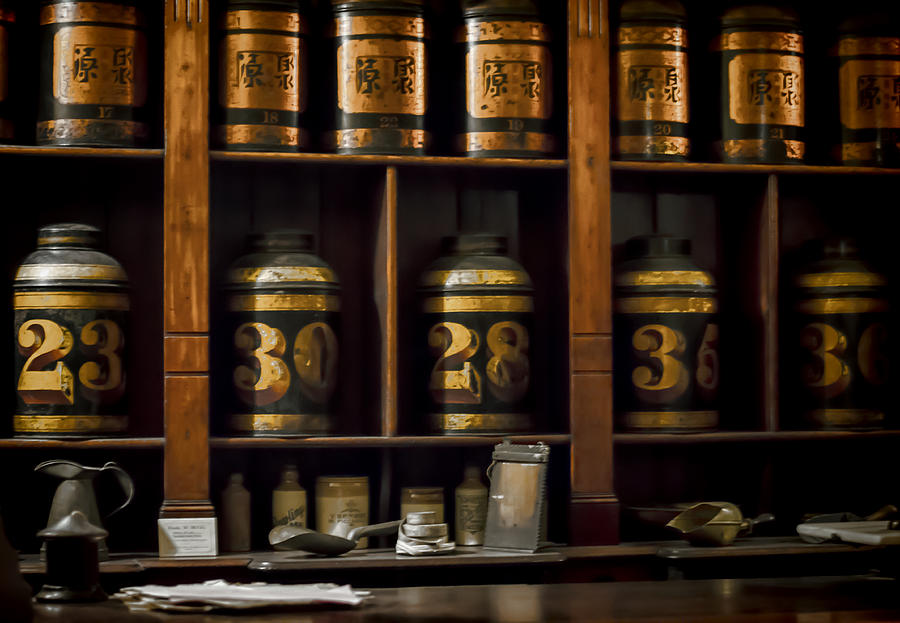 Apothecary Photograph - The Apothecary by Heather Applegate