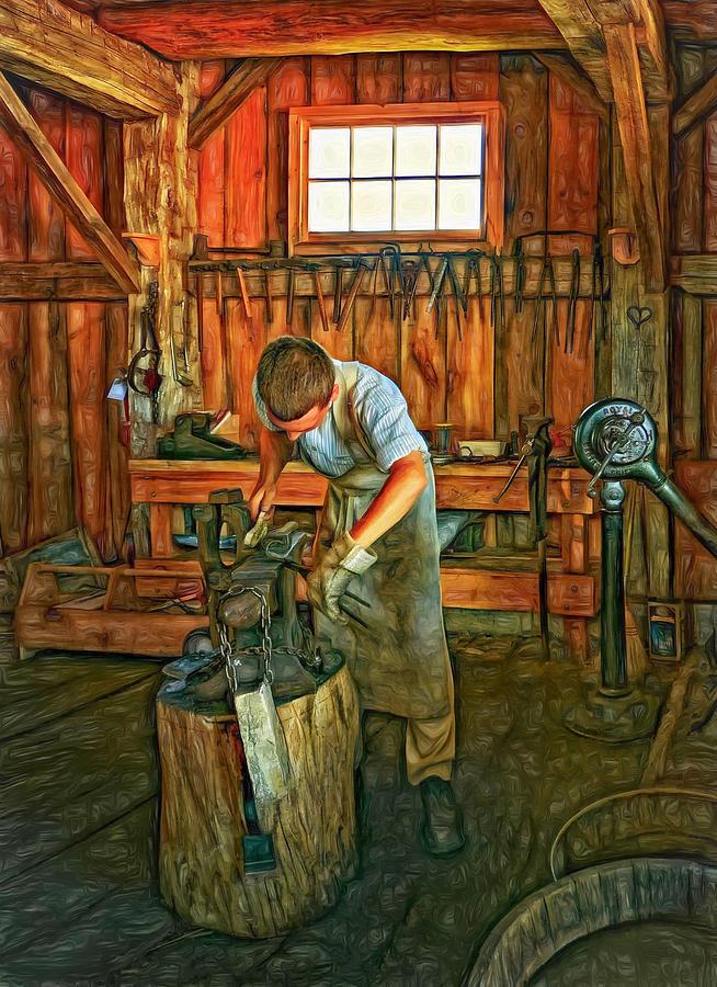 The Apprentice 2 - Paint Photograph