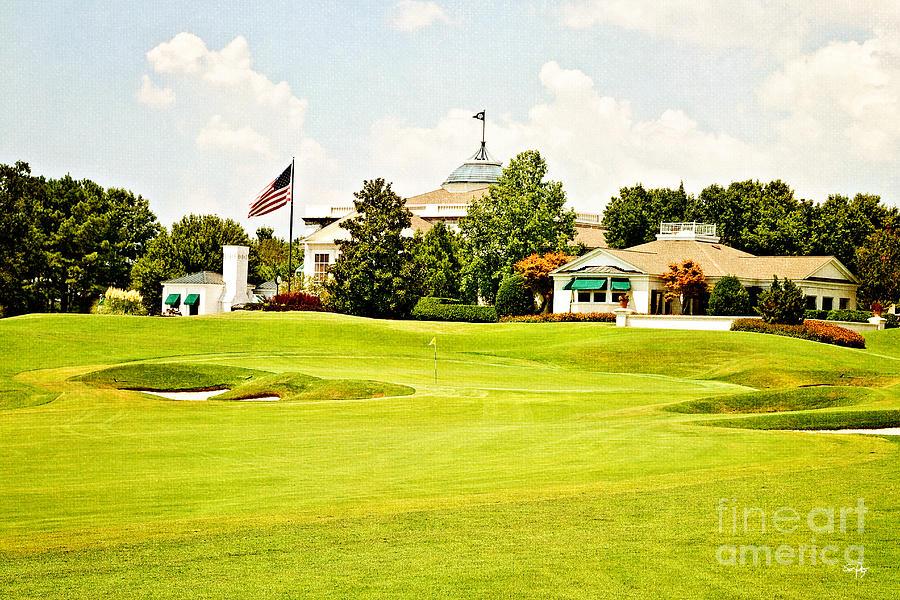 Golf Photograph - The Approach by Scott Pellegrin