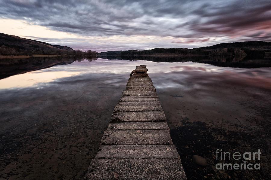 Beautiful Scotland Photograph - The Aproach Of Night by John Farnan