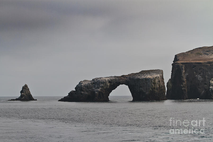 The Arch At Anacapa Island Photograph - The Arch At Anacapa Island by Mitch Shindelbower