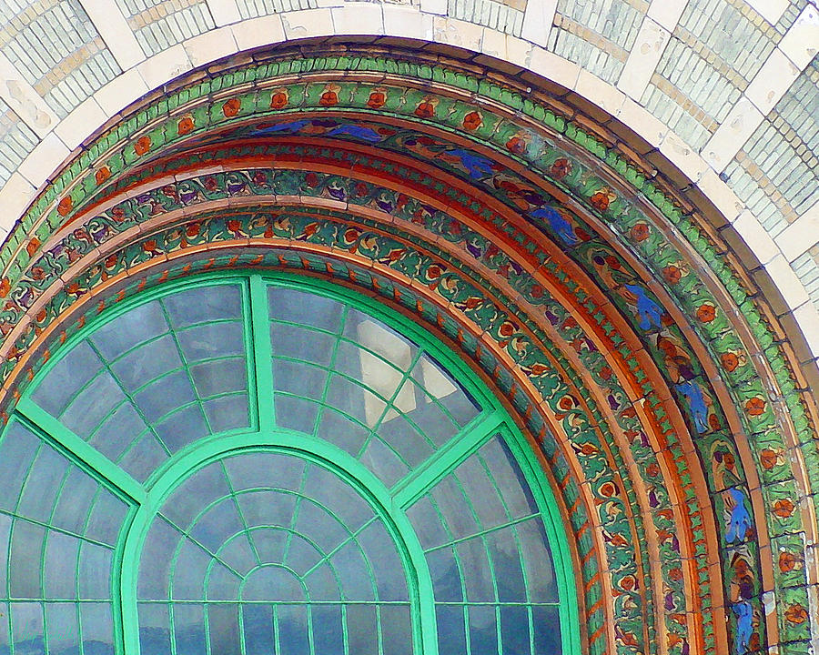 The Arching Entryway Digital Art by Chip Schilling