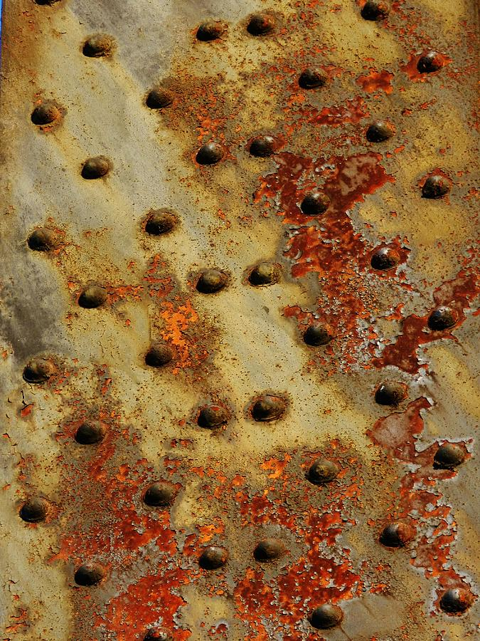 Corrosion Photographs Photograph - The Arid Plains Of Rust by Charles Lucas