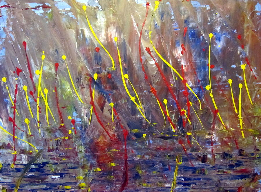 Abstract Painting - The Arising. by Errol  Jameson