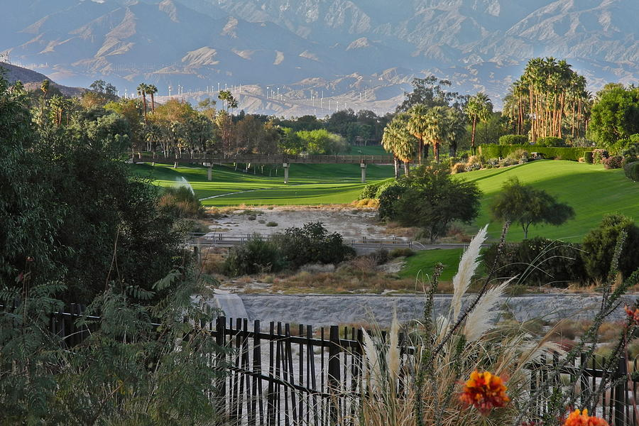 Golf Courses Photograph - The Arroyo In Rancho Mirage by Kirsten Giving