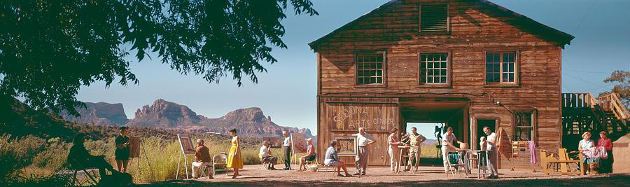 Arizona Photograph - The Art Barn by Bob Bradshaw