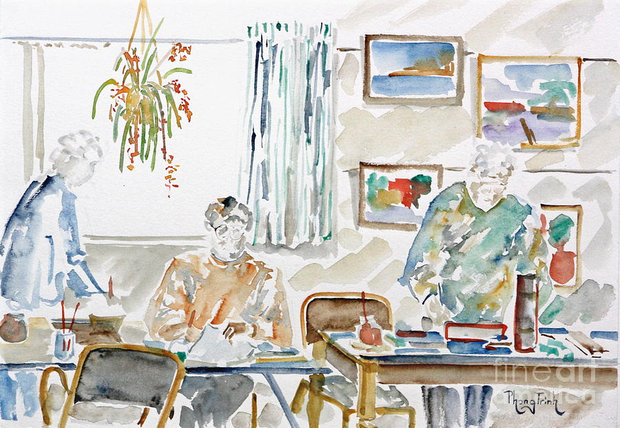 All Painting - The Art Club by Phong Trinh