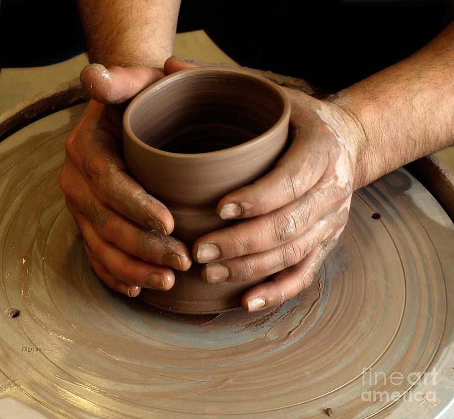 Hands Photograph - The Art Of Hands by Steven Digman