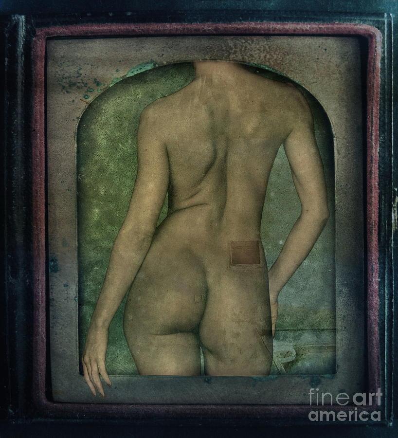 Nude Photograph - The Art Of Illusion by Andrea Kollo