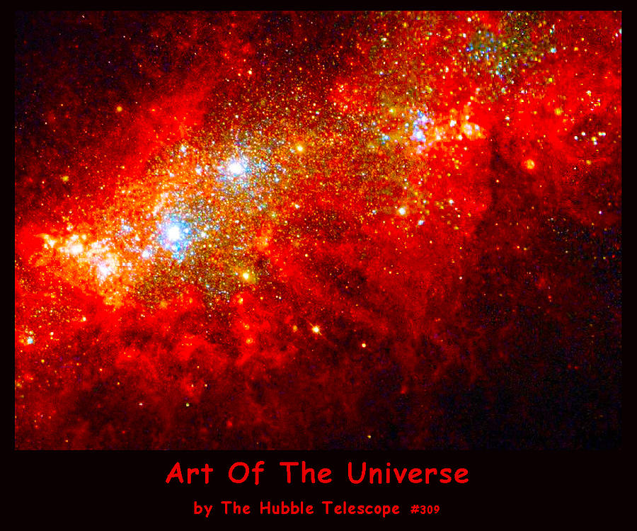 Nasa Digital Art - The Art Of The Universe 309 by The Hubble Telescope