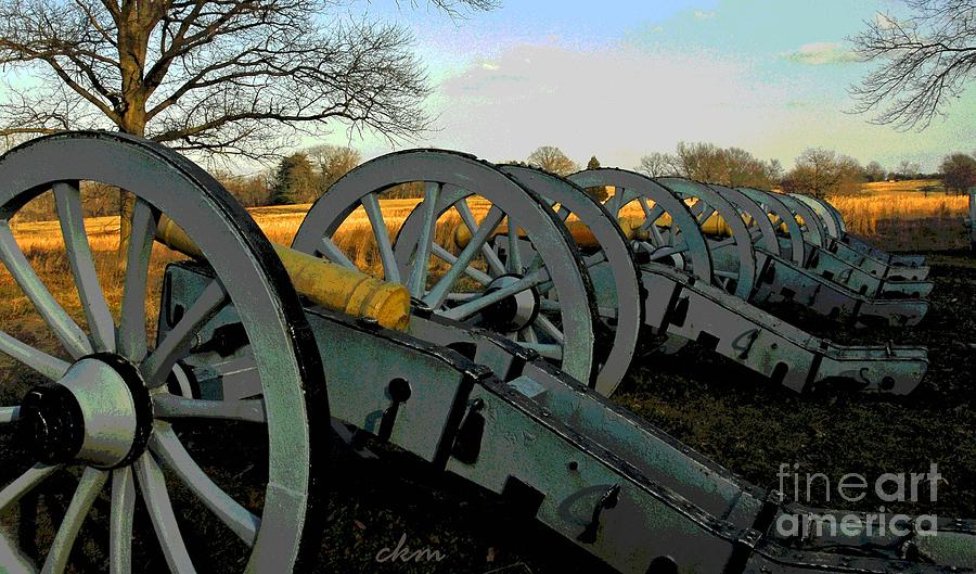 History Photograph - The Artillery by Cindy Manero