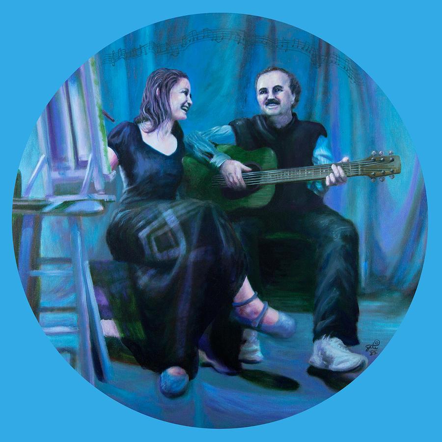 Shelley Irish Painting - The Artists by Shelley Irish