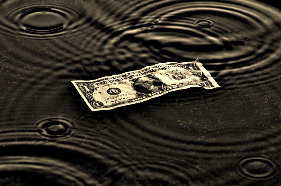 Economy Photograph - The Austerity Effect by Robert Geary