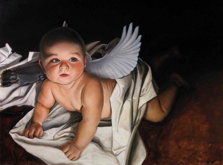 The Awakening of Eros Painting by Eric  Armusik
