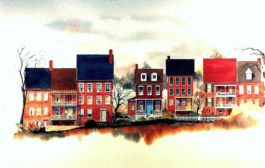 The Strand Painting - The Back Of The Strand by William Renzulli