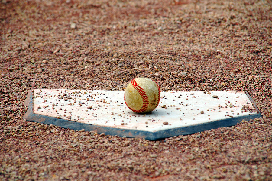 Game Photograph - The Ball Of Field Of Dreams by Susanne Van Hulst