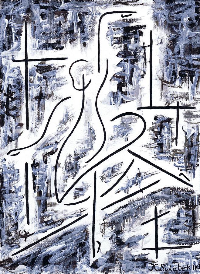 Ballet Painting - The Ballet Rehearsal by Kamil Swiatek