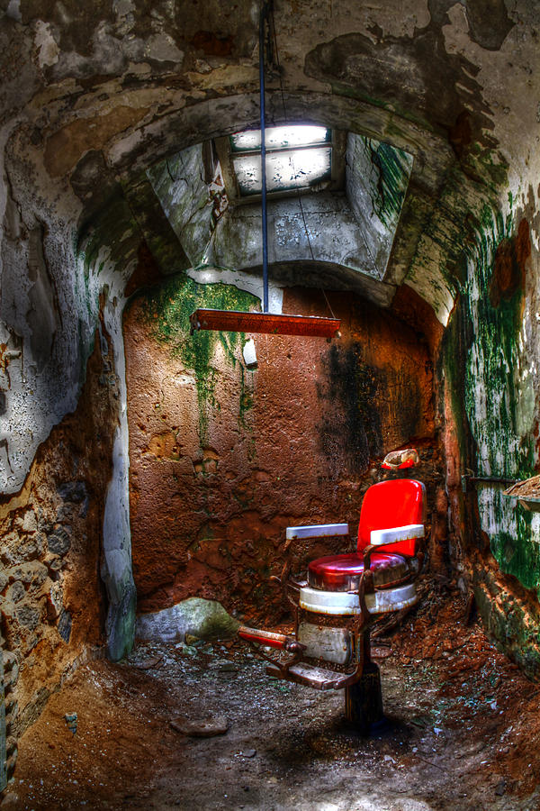 Jails Photograph - The Barber Chair by David Simons