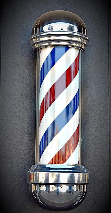 The Barber Pole Photograph By Trisha Buchanan
