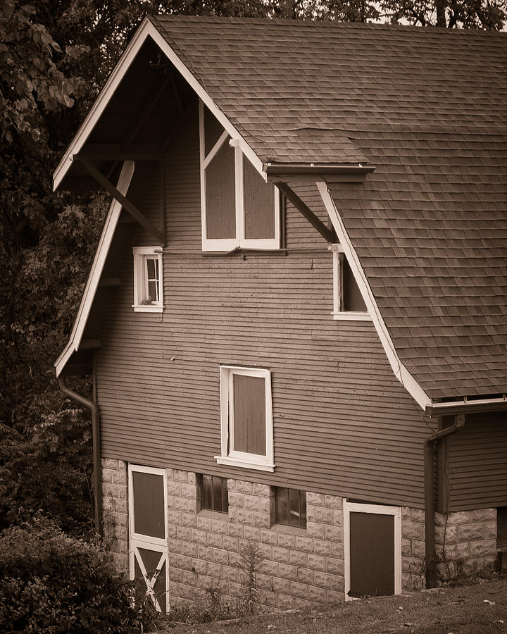 Landscape Photograph - The Barn by Kristy Creighton