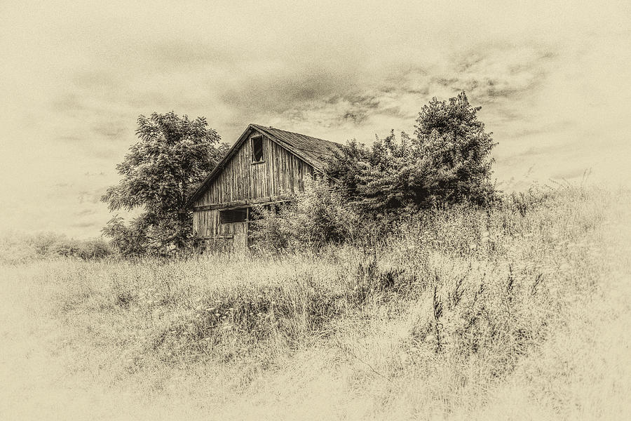 The Barn On The Hill Photograph
