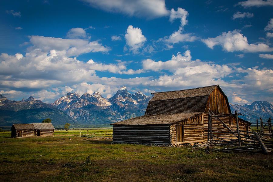 Grand Tetons Photograph - The Barn by Robert Bynum