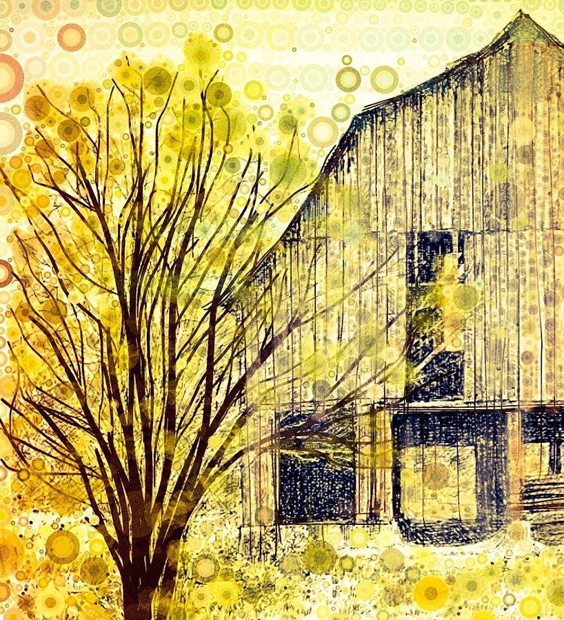 The Barn Where... Digital Art by Steven Boland