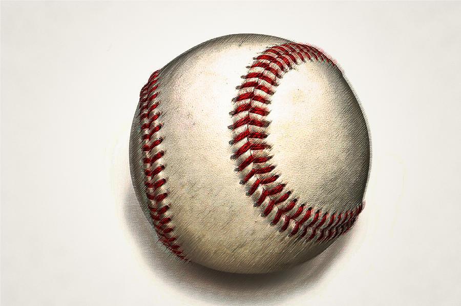 Baseball Photograph - The Baseball by Bill Cannon