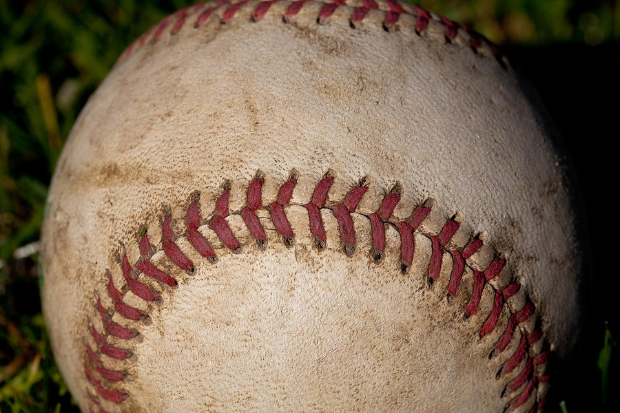 Baseball Photograph - The Baseball II by David Patterson