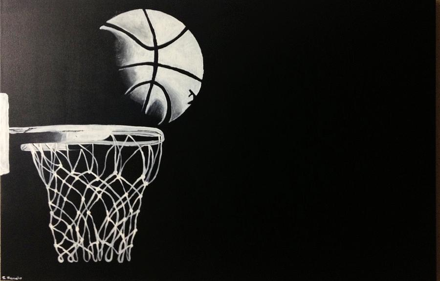 Basketball Painting - The Basketball by Sanjay Thamake