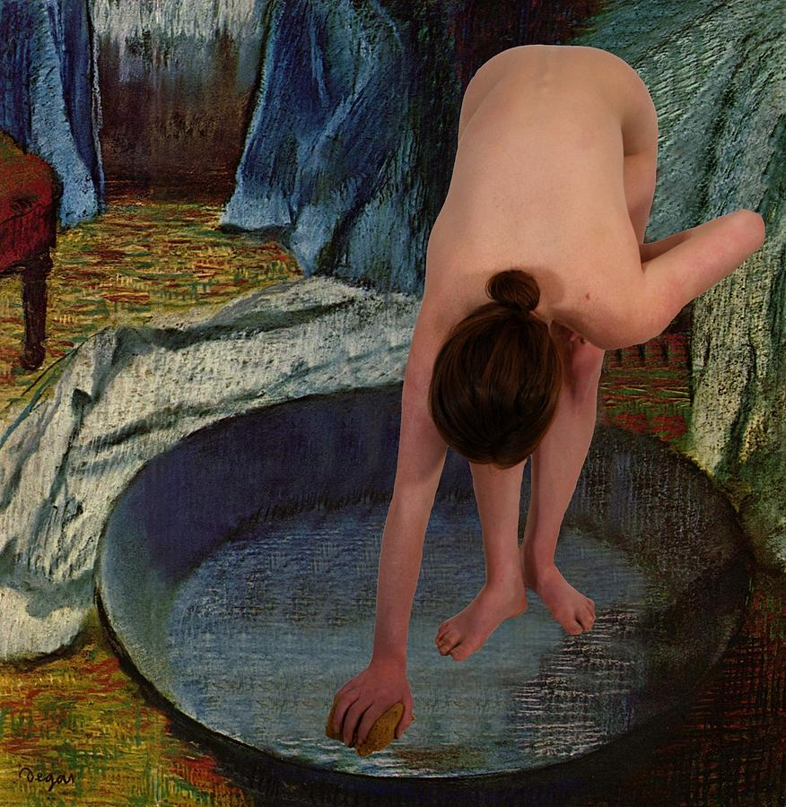 Nude Photograph - The Bather by Don McCunn