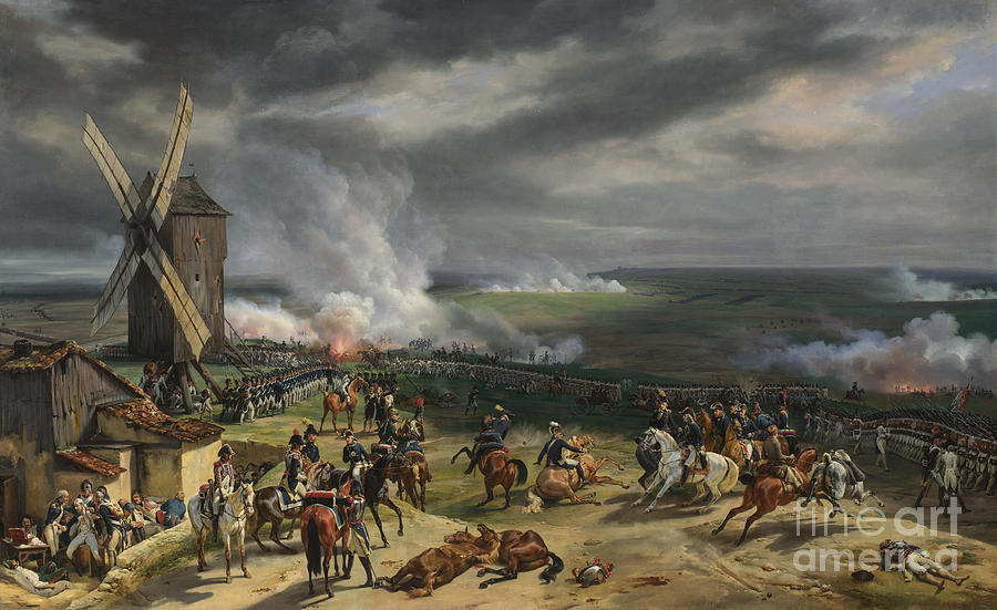Animal Painting - The Battle Of Valmy by Celestial Images