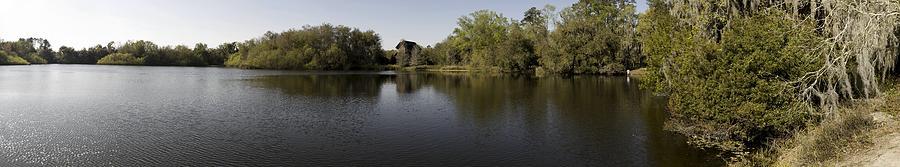 Panoramic Photograph - The Baughman Center At The University Of Florida Panoramic. by William Ragan