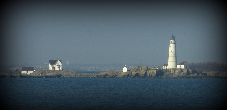 Light House Photograph - The Bay by Maria Scarfone