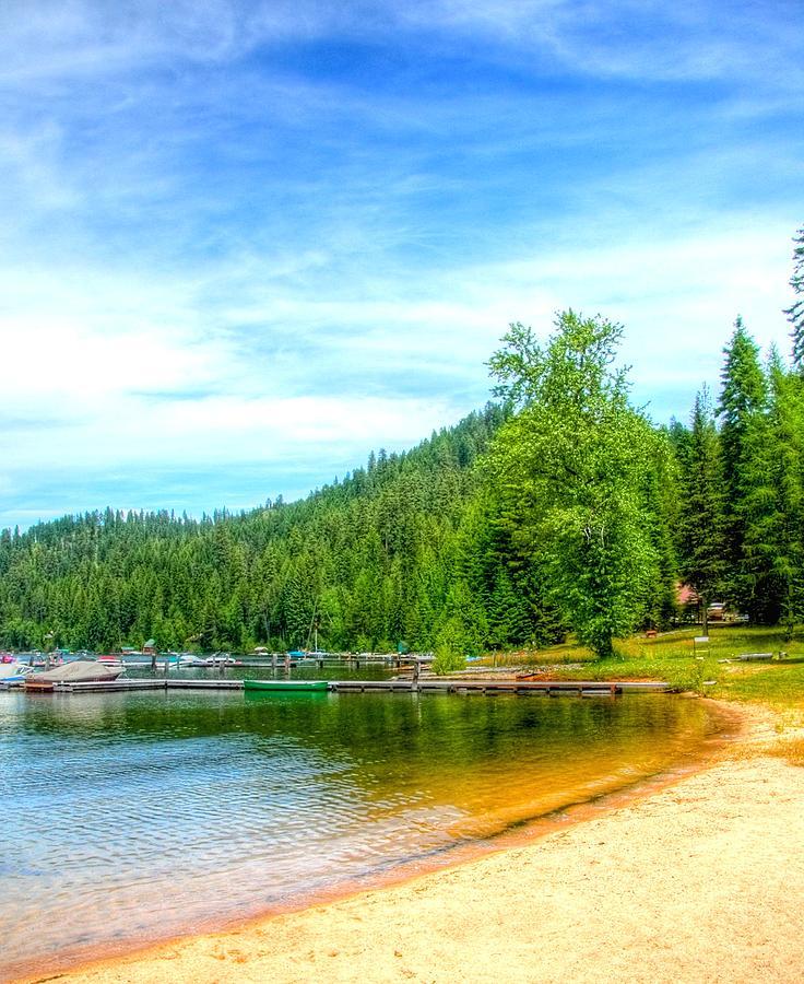 The Beach At Cavanaugh Bay 6966 Photograph