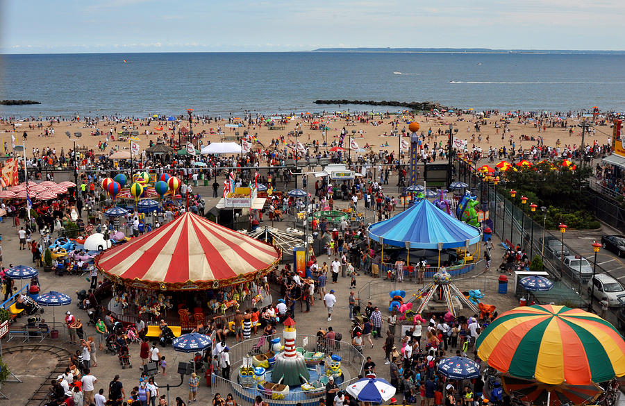 Coney Island Beach Pics
