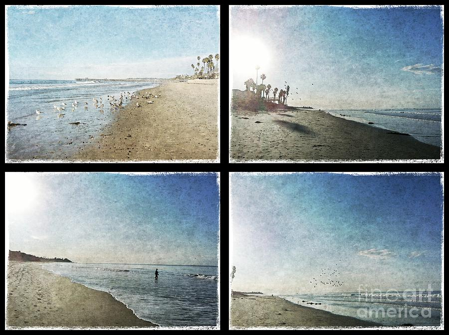 San Clemente Photograph - The Beaches Of San Clemente Collage by Traci Lehman