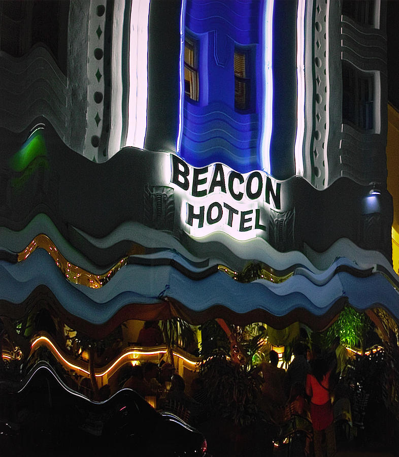 The Beacon Hotel by Gary Dean Mercer Clark