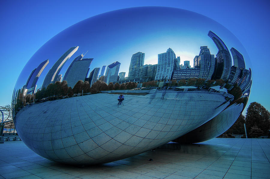 Chicago Photograph - The Bean by Jonah  Anderson
