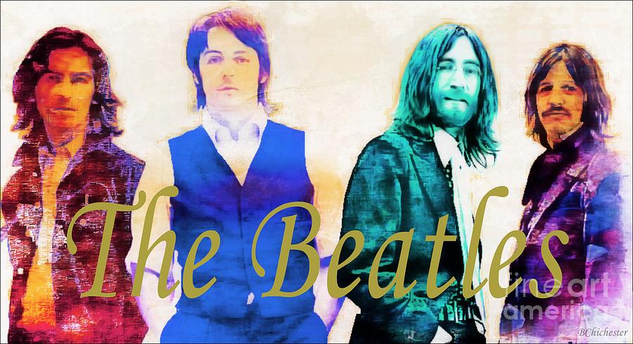 The Beatles Photograph - The Beatles by Barbara Chichester