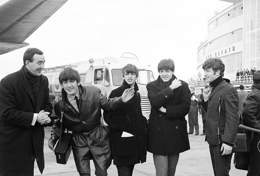 The Beatles Photograph - The Beatles in Dublin by Irish Photo Archive