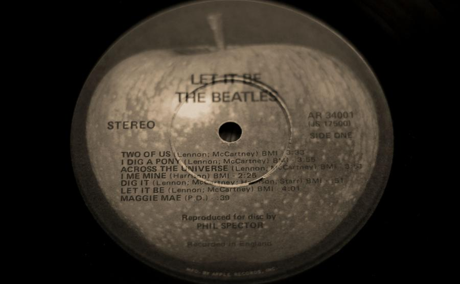 Let It Be Photograph - The Beatles Let It Be by Dan Sproul