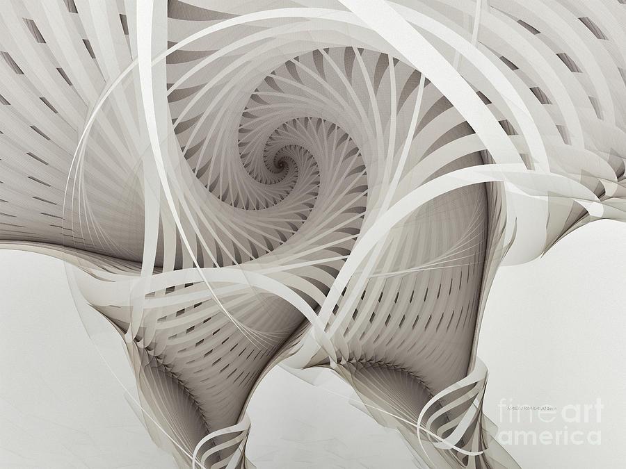 The Beauty Of Math-fractal Art Digital Art by Karin Kuhlmann