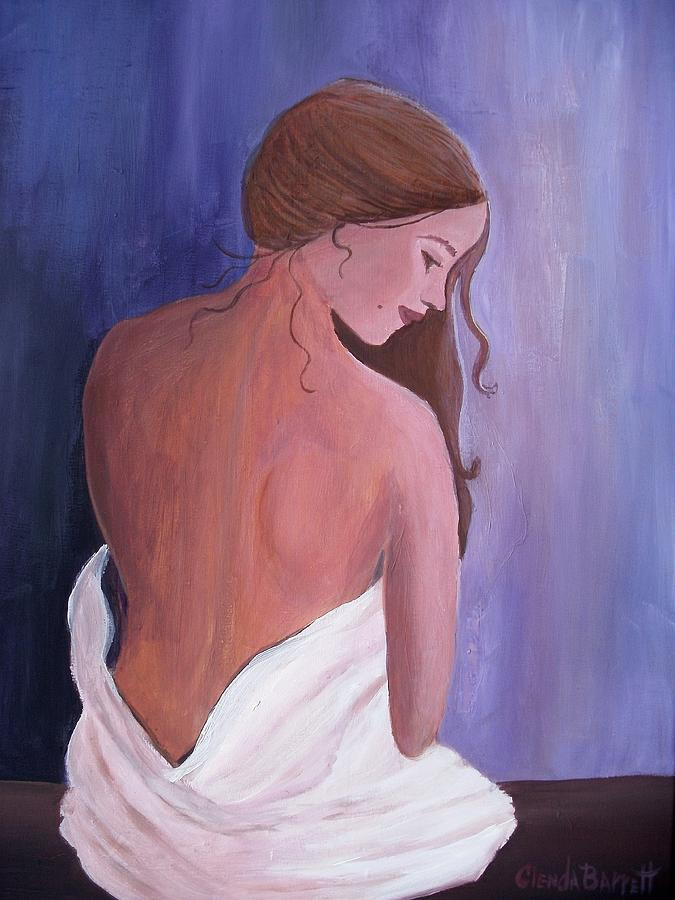Original Painting - The Beauty Of Silence by Glenda Barrett