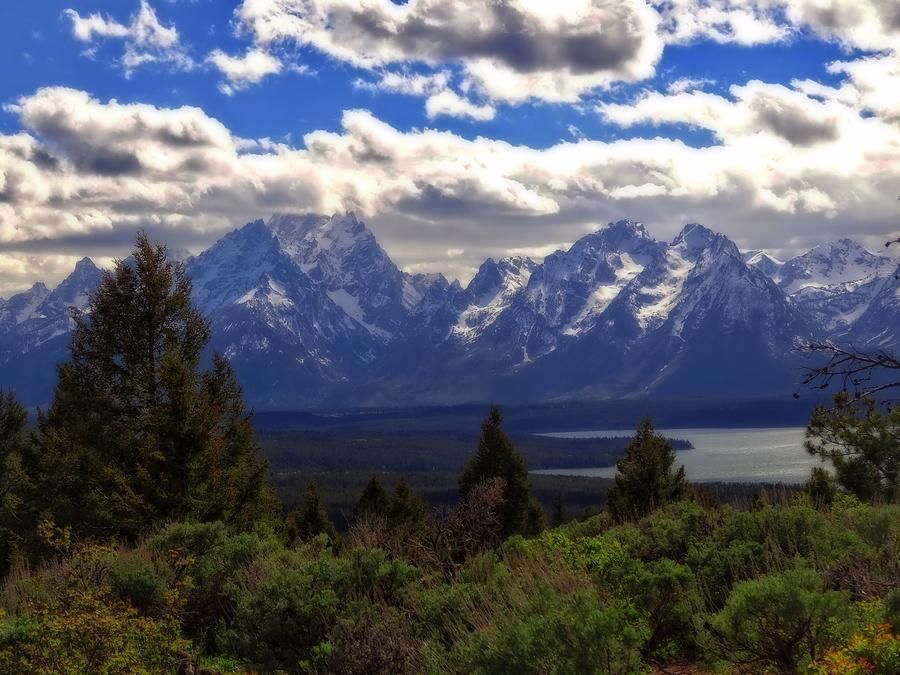 The Tetons Photograph - The Beauty Of The Tetons by Dan Sproul