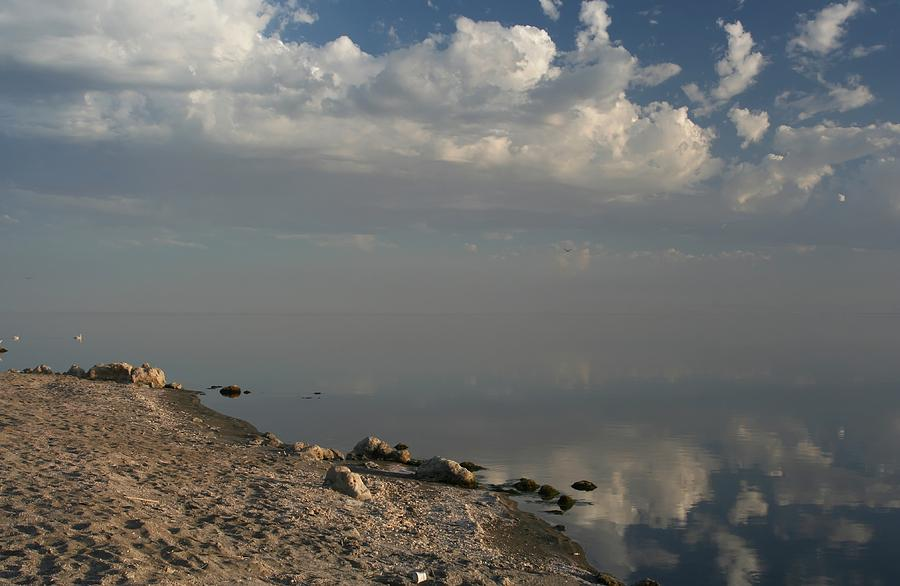 Salton Sea Photograph - The Beginning And The End by Laurie Search