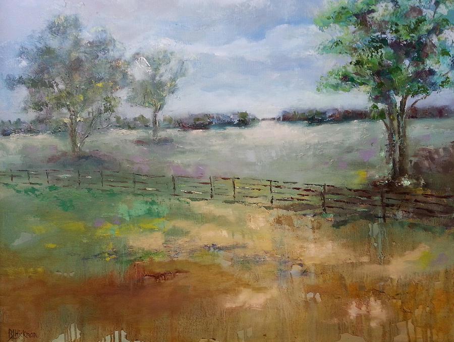 Landscape Painting - The Bells Secret by Brandi  Hickman