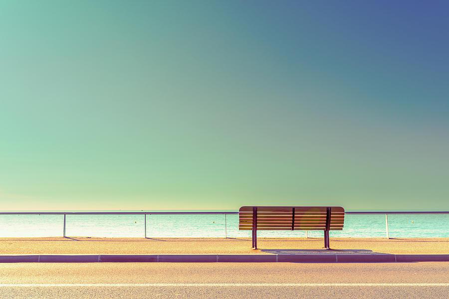 Minimalism Photograph - The Bench by Arnaud Bratkovic