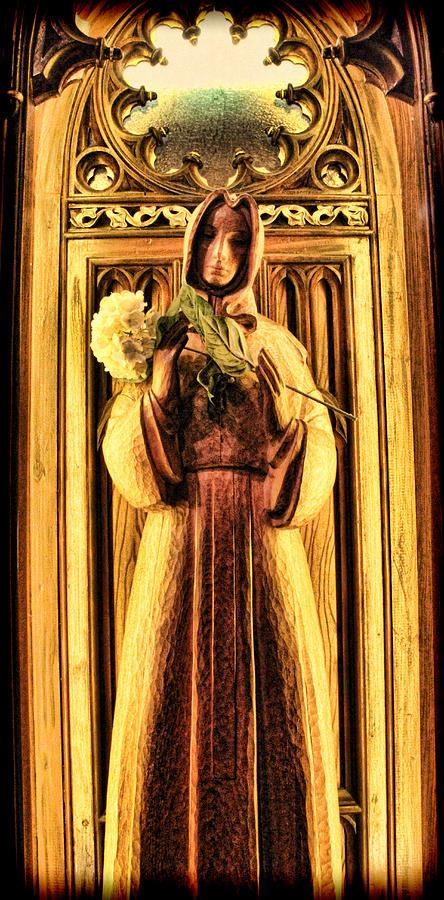 Benedictine Monk Photograph - The Benedictine Monk by Lee Dos Santos