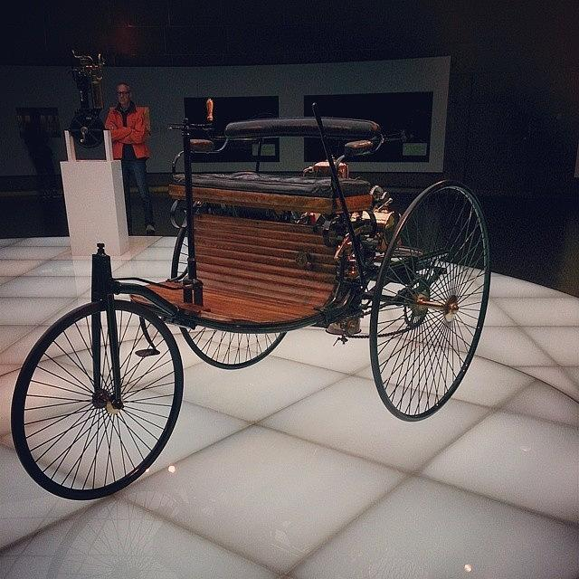 Patent Photograph - The #benz #patent #motorwagen - by Qin Xie